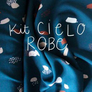 Kit Cielo - Robe - Viscose Atelier Brunette Moonstone Green