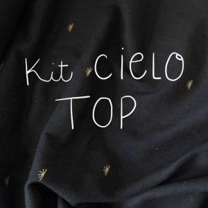 Kit Cielo - Top - Voile de coton Atelier Brunette Sunset Night