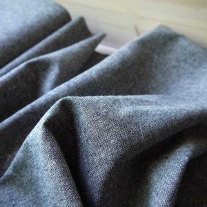 Kaufman - Coton/Lin Essex Yarn Dyed - Graphite