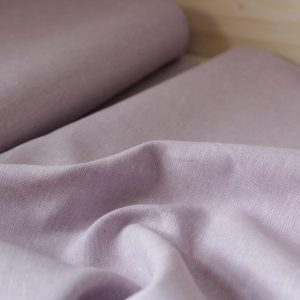 Kaufman - Coton/Lin Essex Yarn Dyed - Lilac