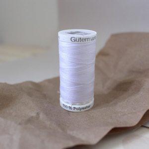 Gütermann - Fil tout usage 250m - Blanc (20)