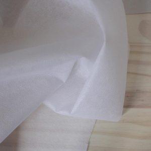 Entoilage thermocollant léger - blanc