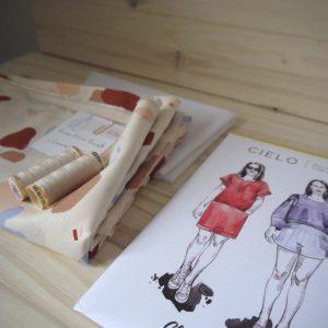 Kit Cielo - Robe - Viscose Atelier Brunette Granito Off-White