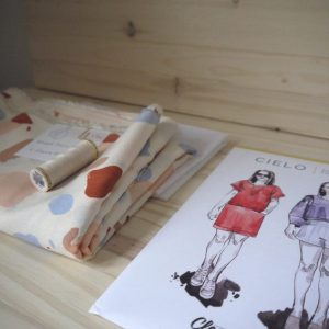 Kit Cielo - Top - Viscose Atelier Brunette Granito Off-White