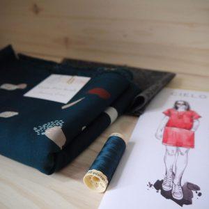 Kit Cielo - Top - Viscose Atelier Brunette Moonstone Green