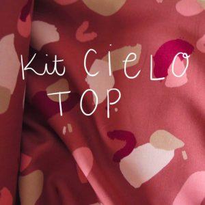 Kit Cielo - Top - Viscose Atelier Brunette Granito Chestnut