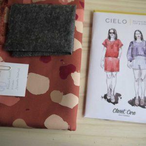 Kit Cielo - Robe - Viscose Atelier Brunette Granito Chestnut