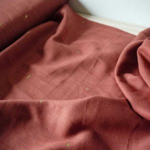 Atelier Brunette - Voile de coton - Sunset Chestnut