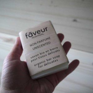 Faveur Montréal - Savon en barre - Non parfumé