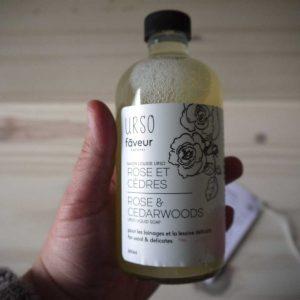 Faveur Montréal / Urso - Savon liquide 250 ml - Rose et Cèdres