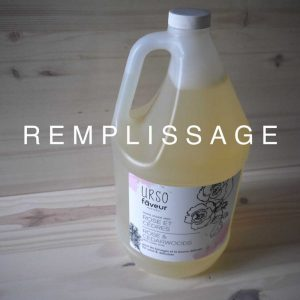 Faveur Montréal / Urso - REMPLISSAGE - Savon liquide 250 ml - Rose et Cèdres
