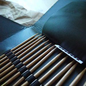 Addi - Olive Wood - Kit d'aiguilles interchangeables