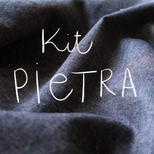 Kit Pietra - Short / Pantalon - Coton-lin Robert Kaufman Espresso