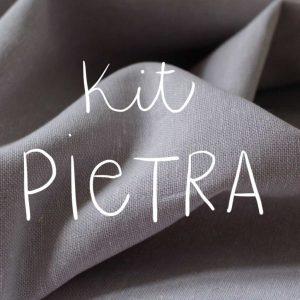Kit Pietra - Short / Pantalon - Coton-lin Robert Kaufman Heather