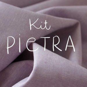 Kit Pietra - Short / Pantalon - Coton-lin Robert Kaufman Lilac
