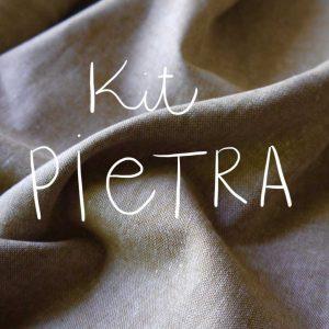 Kit Pietra - Short / Pantalon - Coton-lin Robert Kaufman Miel Doré