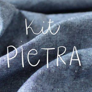 Kit Pietra - Short / Pantalon - Coton-lin Robert Kaufman Nautical