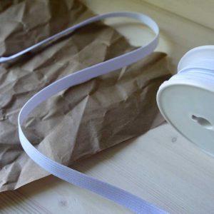 Élastique 10mm - blanc