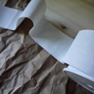 Élastique 25mm - blanc