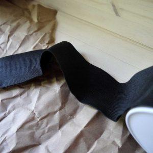 Élastique 25mm - noir