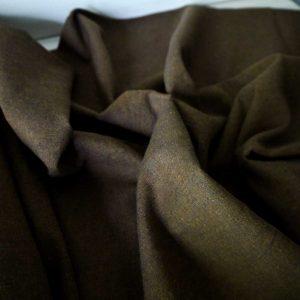 Kaufman - Coton/Lin Essex Yarn Dyed - Cinnamon