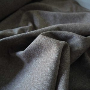Kaufman - Coton/Lin Essex Yarn Dyed - Nutmeg
