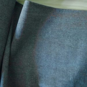 Kaufman - Coton/Lin Essex Yarn Dyed - Shale