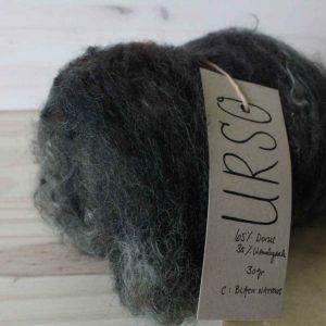 Urso Fibre - Nappe Cardée 30 gr - Black Narrows