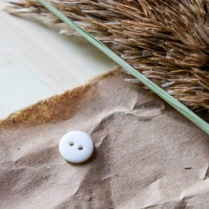 Atelier Brunette - Boutons Classic Shine - Off-White 10 mm