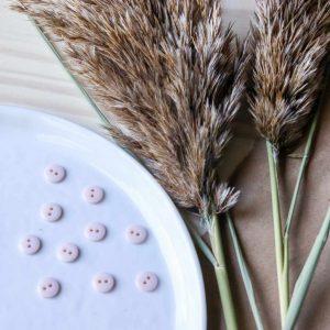 Atelier Brunette - Boutons Classic Shine - Powder 10 mm