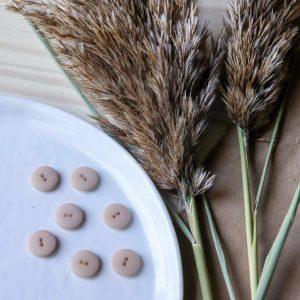 Atelier Brunette - Boutons Palm - Blush 15 mm