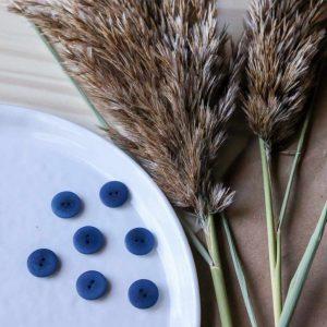 Atelier Brunette - Boutons Palm - Midnight 15 mm